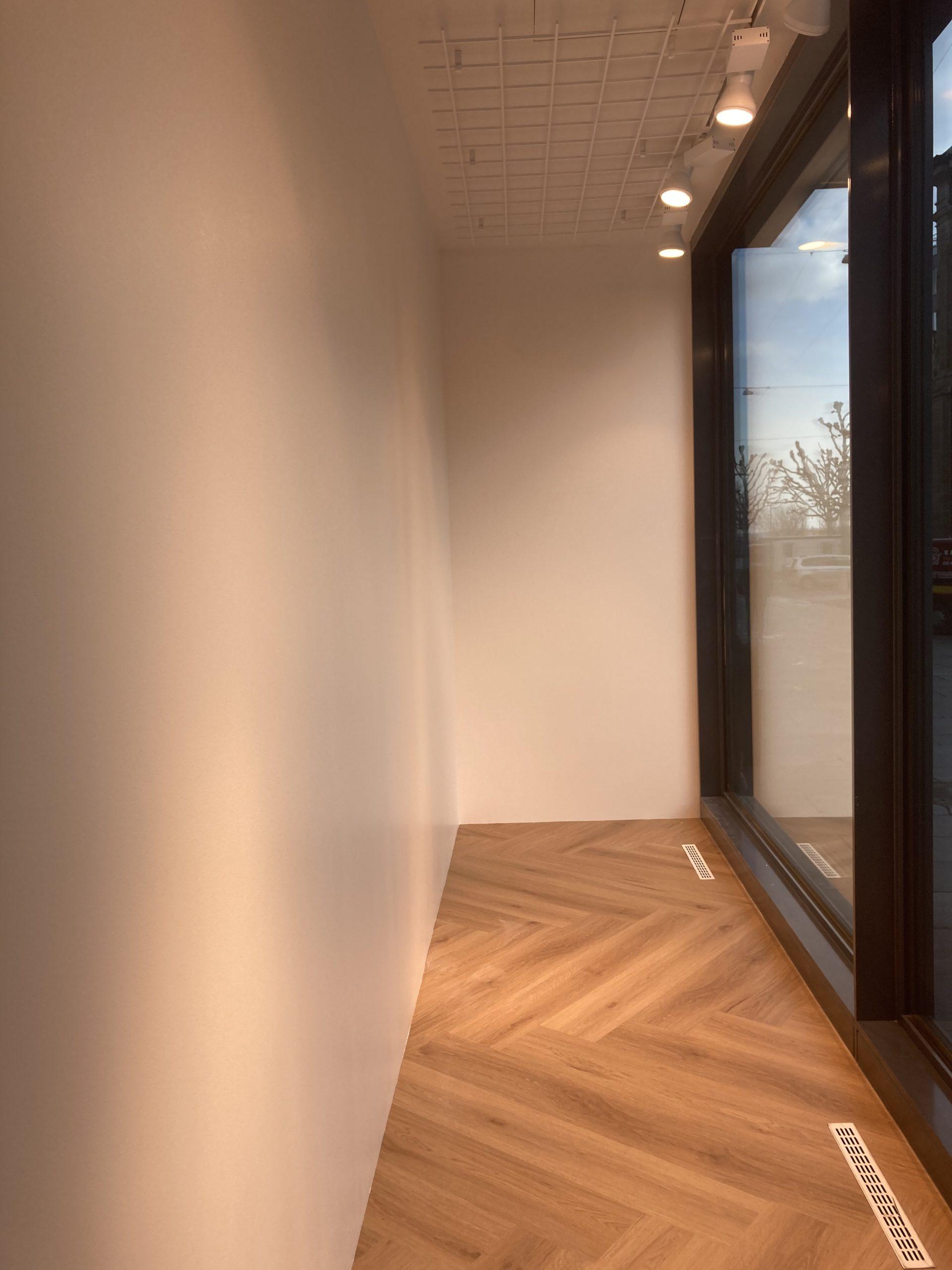 Morgan Genève - Réfection des vitrines